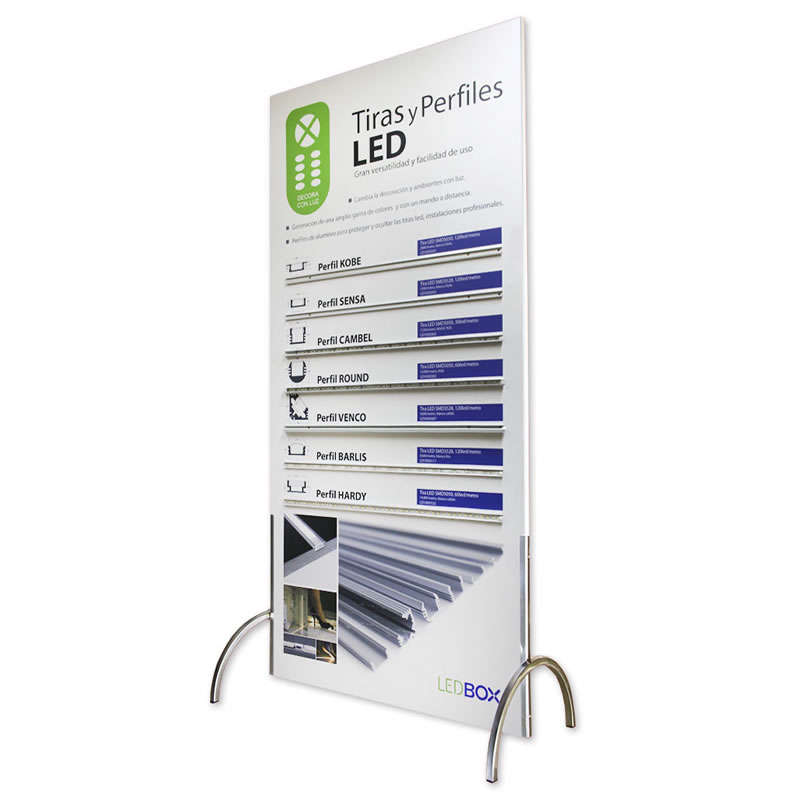 Panel demo Tiras Led LedBox